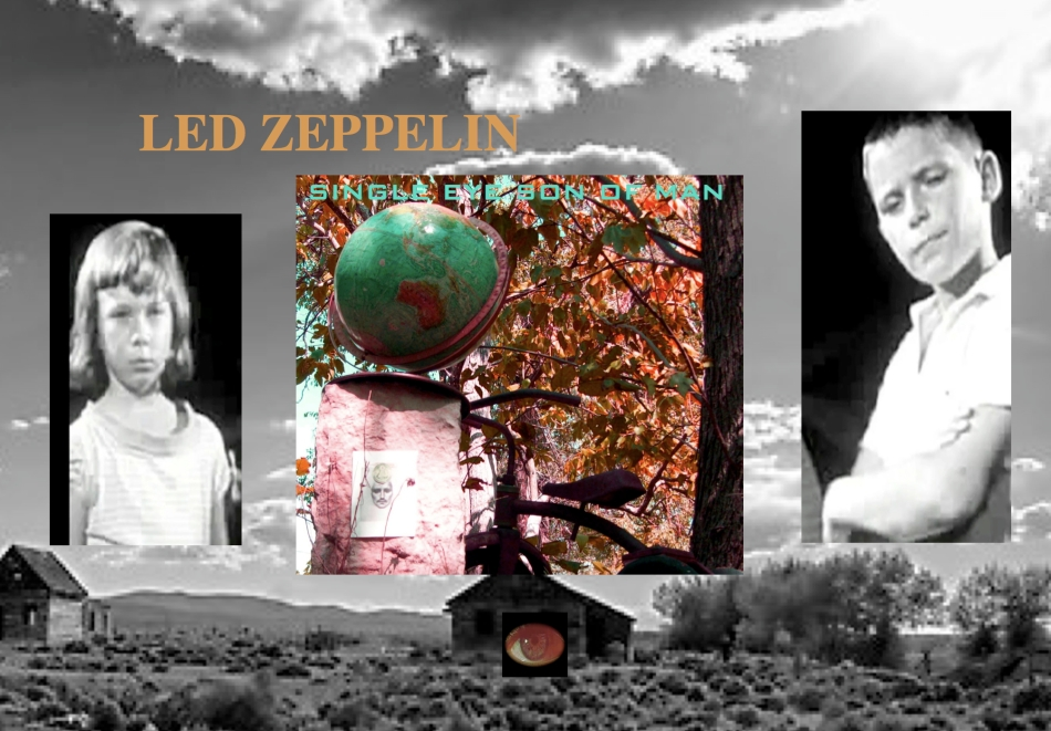 led zeppelin 2014 Single eye son of man copyright
